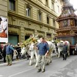 Evenementen Firenze: het ontploffen van de kar op paaszondag