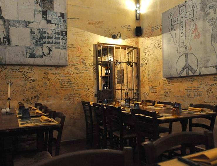 restaurant Le Carceri