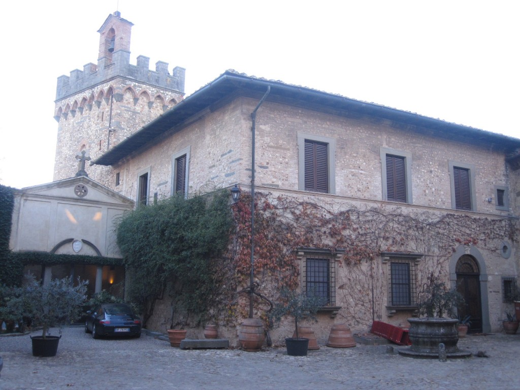 Binnenkoer kasteel