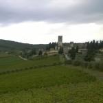 Het Chianti stadje Tavarnelle Val di Pesa