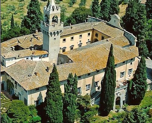 kasteel castello di Montegufoni