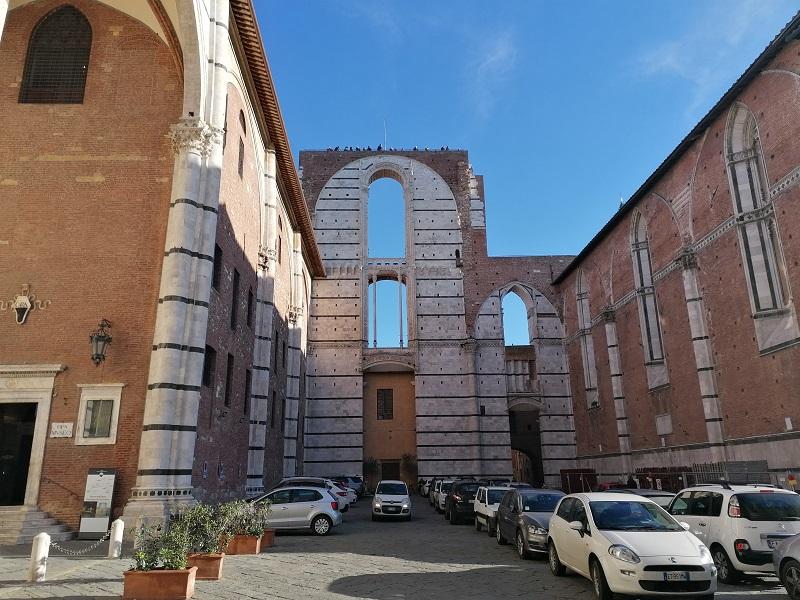 duomo di Siena uitbreiding
