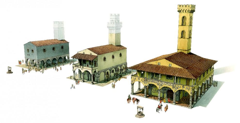 Geschiedenis bouw stadhuis