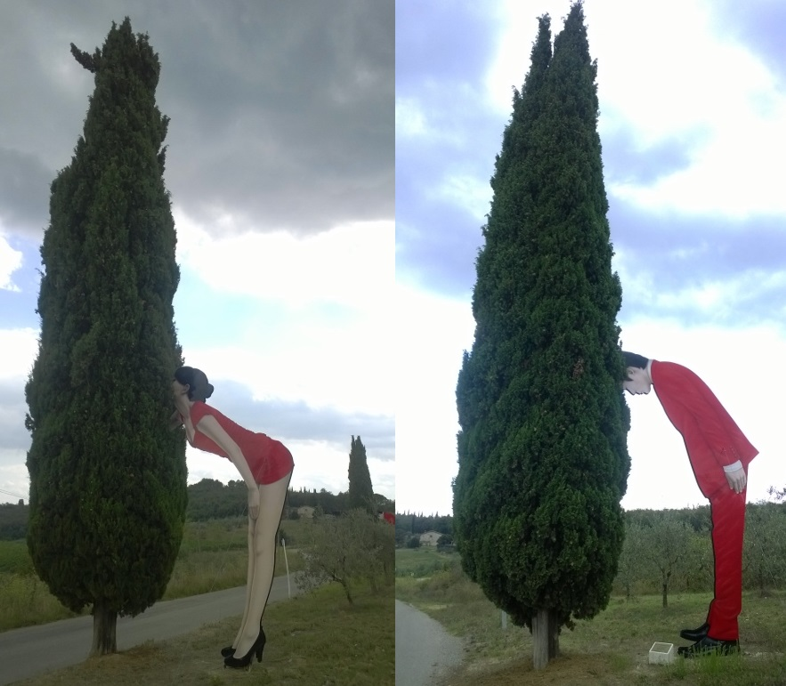 Chianti sculpture park