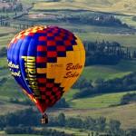 Toscane ontdekken in een luchtballon