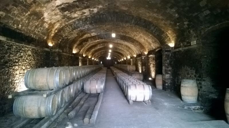 de antieke wijnkelder
