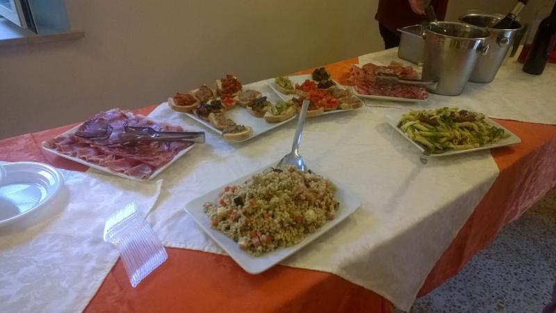 Hapjes tijdens het aperitief