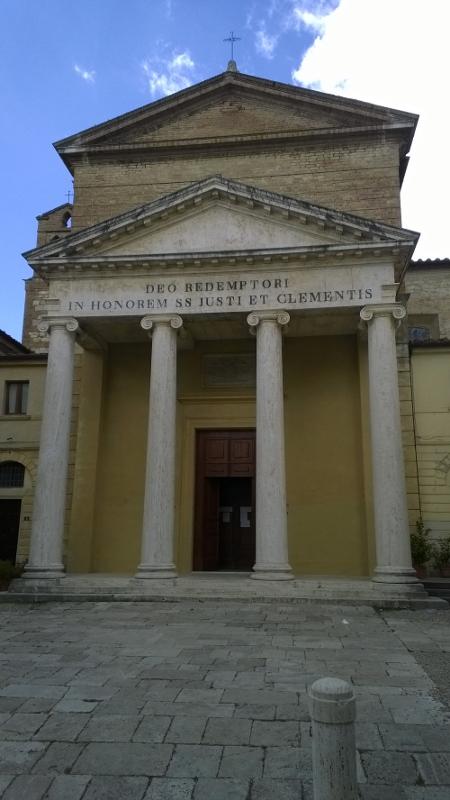 kerk Propositura dei Santi Giusto e Clemente