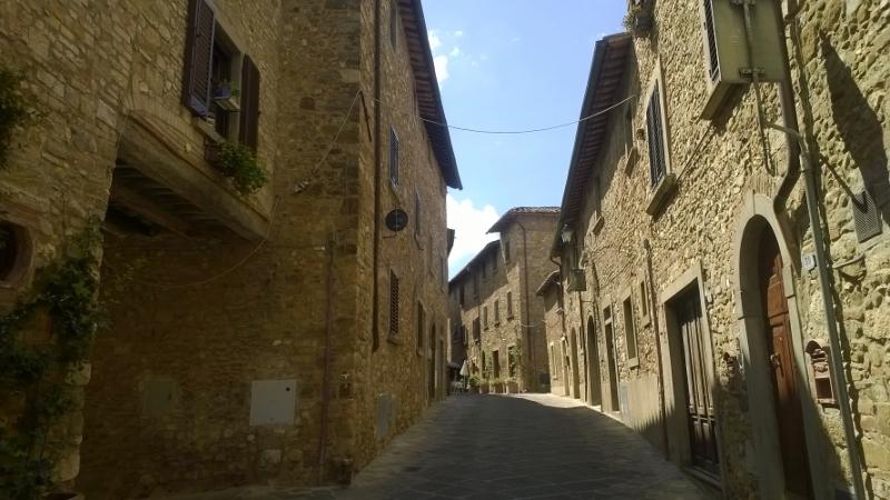 steegje in Barberino Val d'Elsa