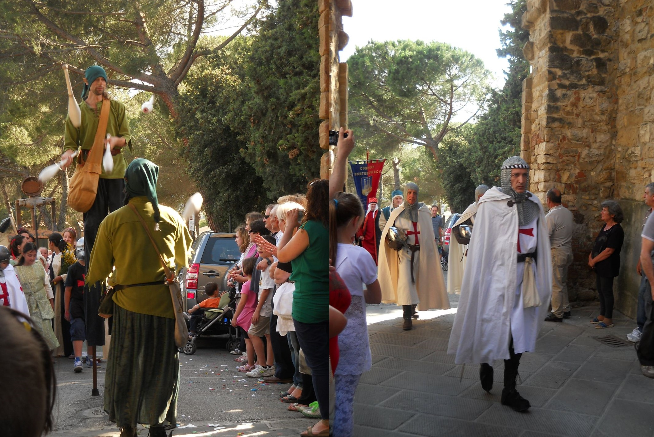 middeleeuws feest Barberino