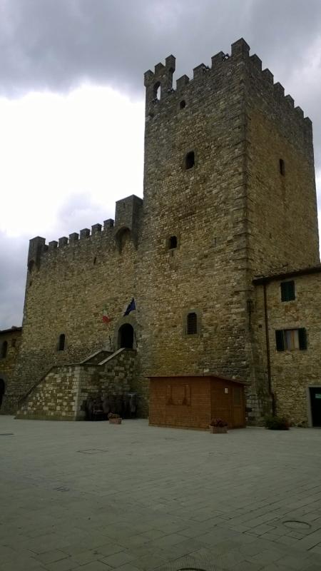 Het middeleeuws kasteel la Rocca