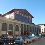 De overdekte markt van Firenze
