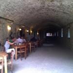 De overdekte middeleeuwse straatjes van Castellina in Chianti