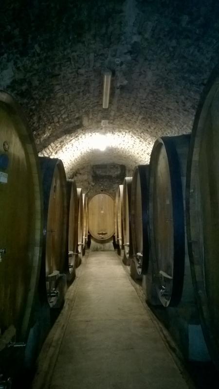 één van de vele Chianti Classico wijnkelders