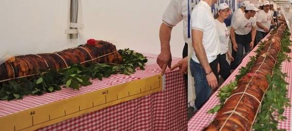 Langste Porchetta ter wereld