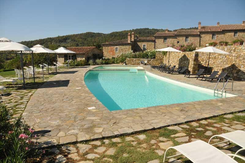 Piccolo Borgo Gagnoni zwembad