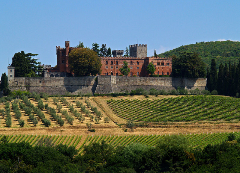 Het prachtige kasteel Castello di Brolio