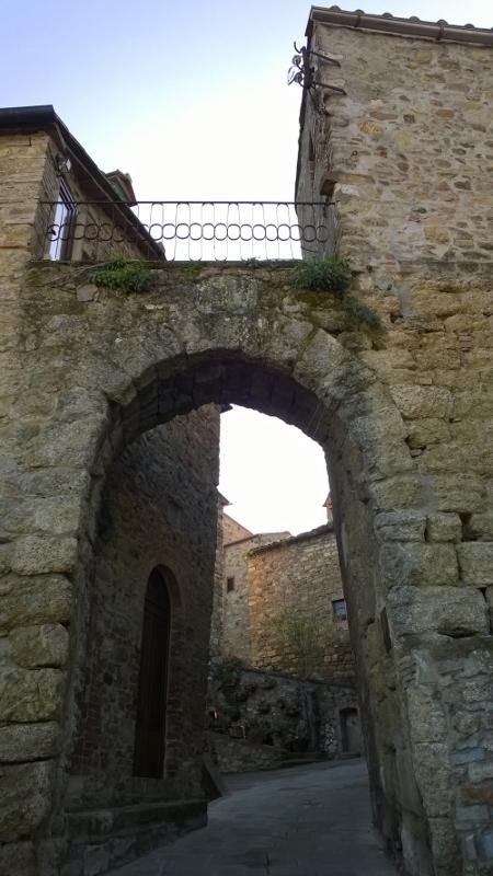 De middeleeuwse stadspoort