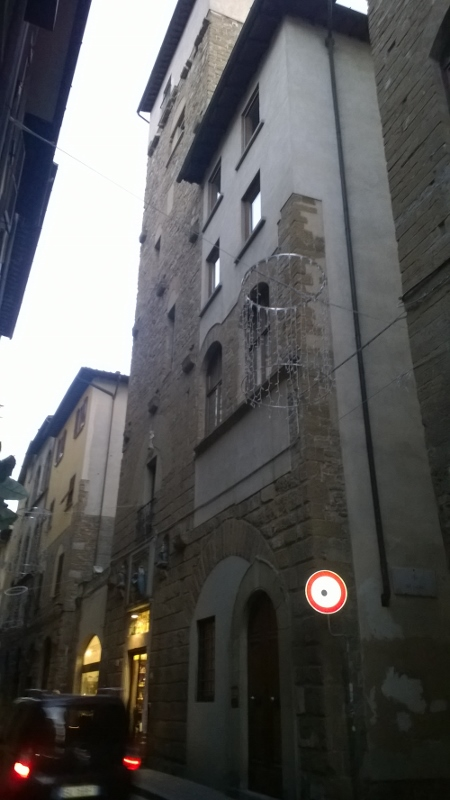 De toren Torre dei Marsili