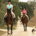 Paardrijden in Toscane