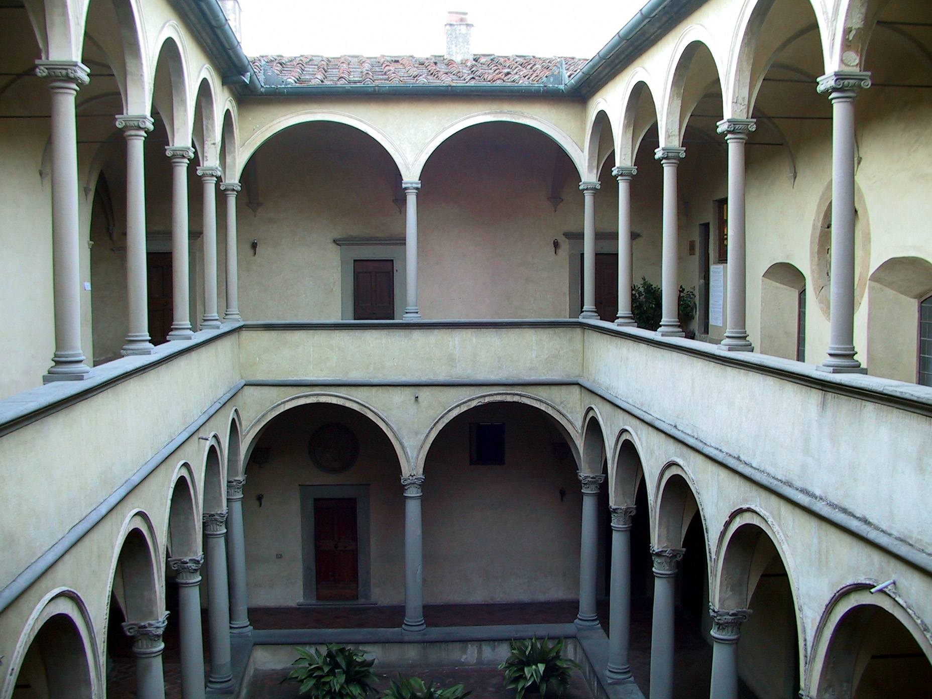 Firenze - Chiostrino dei conversi