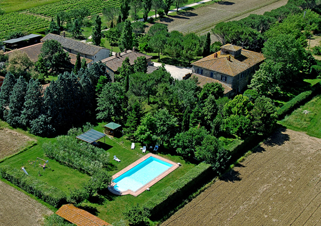 Agriturismo Case Sant'Anna gelegen in een oase van rust