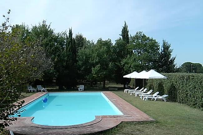 agriturismo case santanna Cortona zwembad