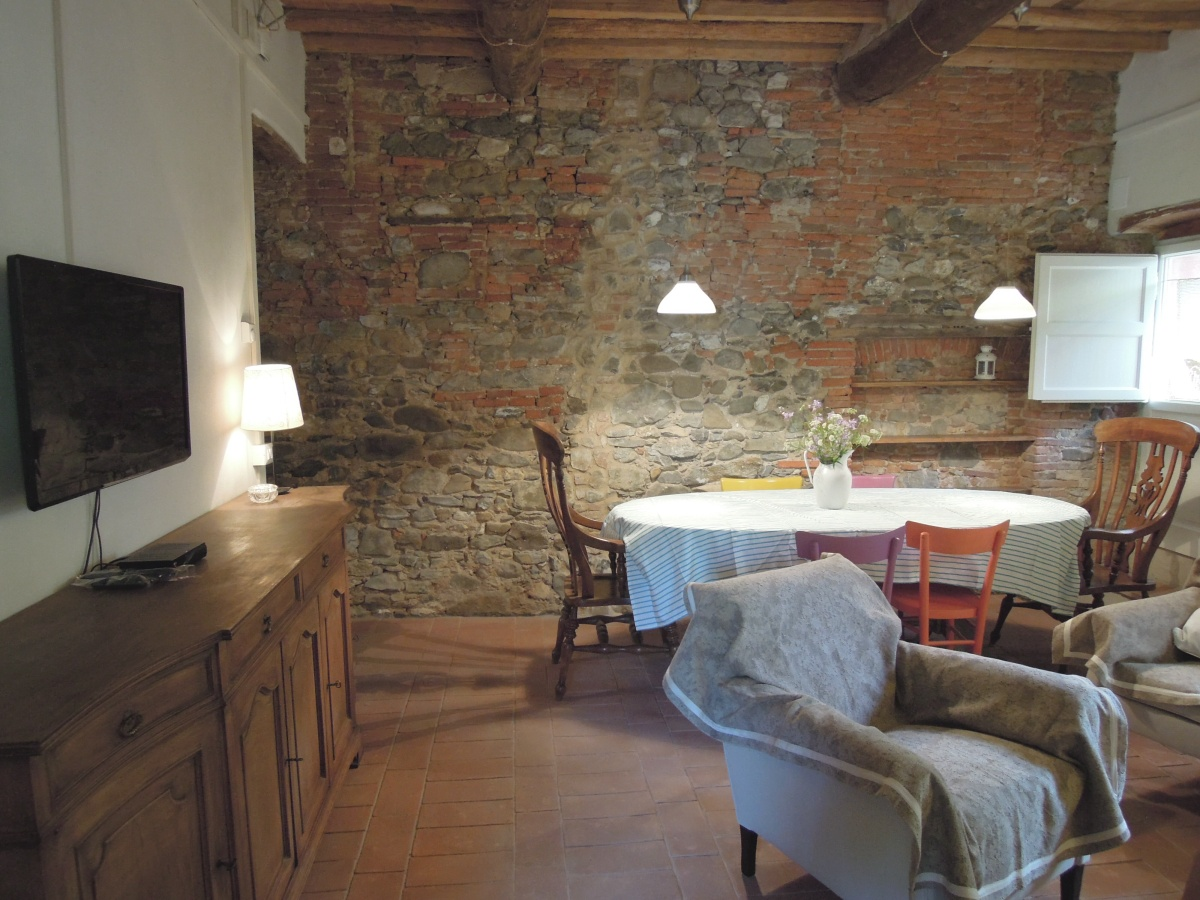 Interieur van huis Duardo