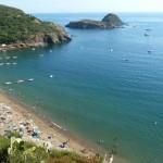 Het strand der geliefden op Elba