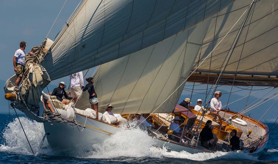 De zeilwedstrijd Argentario Sailing Week