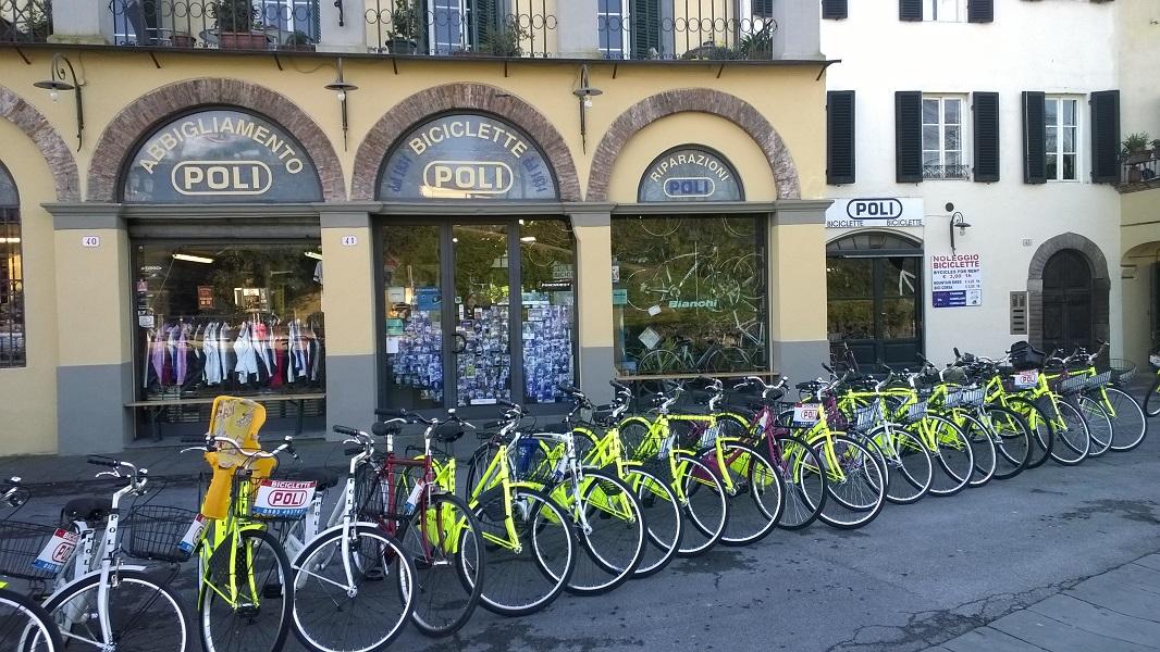 fietsverhuur Lucca