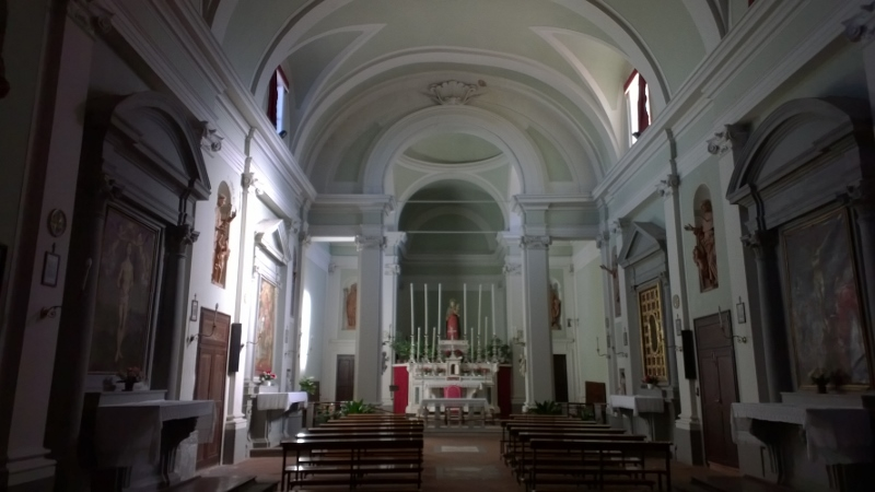 interieur kerk Chiesa dei santi Jacopo
