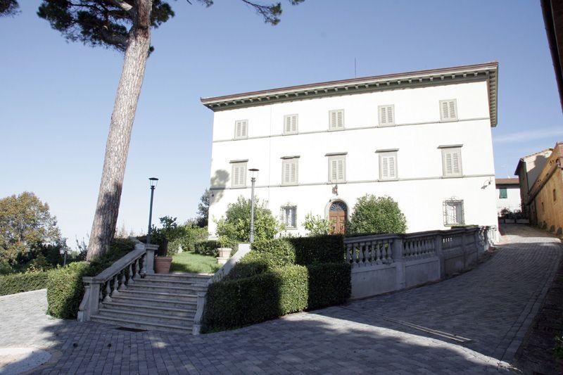 beeld van de villa