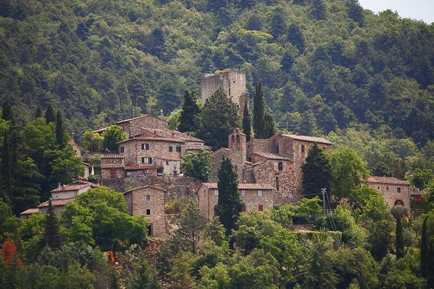 Het pittoreske dorpje Barbischio