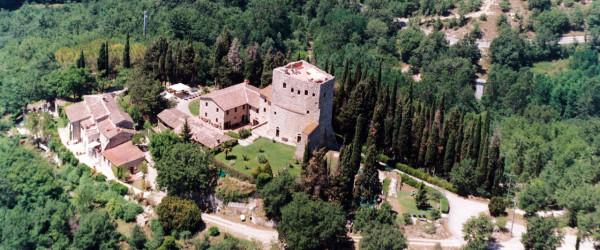 Het kasteel van Tornano