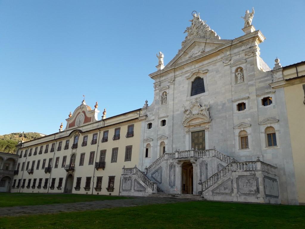 klooster La certosa di Calci Pisa