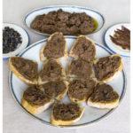 Crostini di fegatini (kippenlever)
