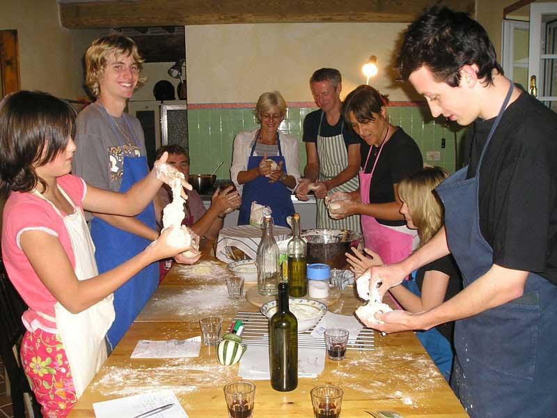 Sfeerbeelden van de kookcursus