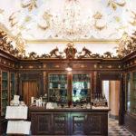 De antieke apotheek in Firenze