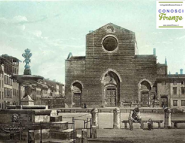 Firenze-Santa Croce vroeger