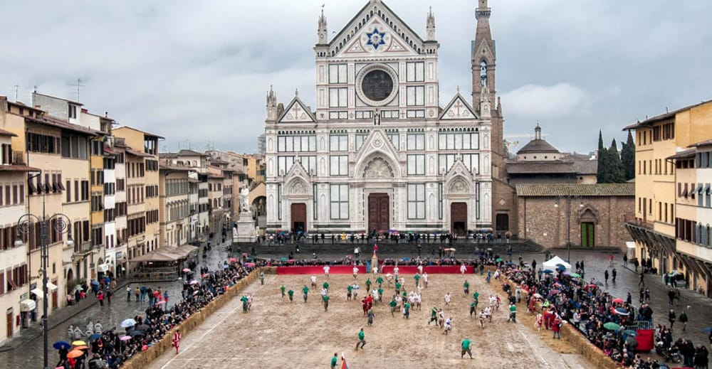 Firenze-Santa Croce-Calcio storico