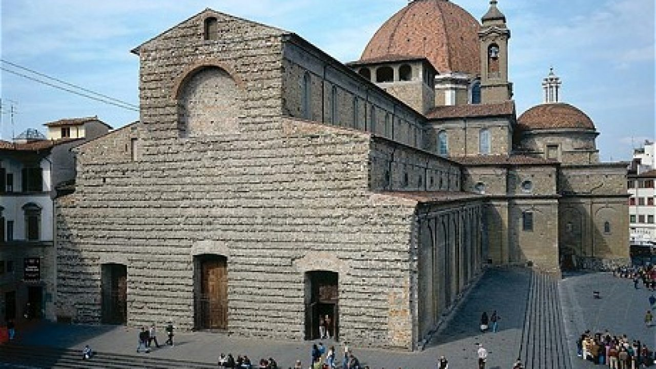 Firenze-San Lorenzo basiliek-Toscane