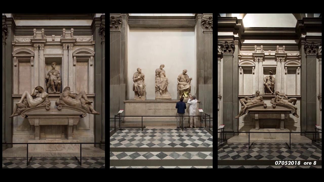 Sagrestia nuova-Michelangelo-Firenze San Lorenzo