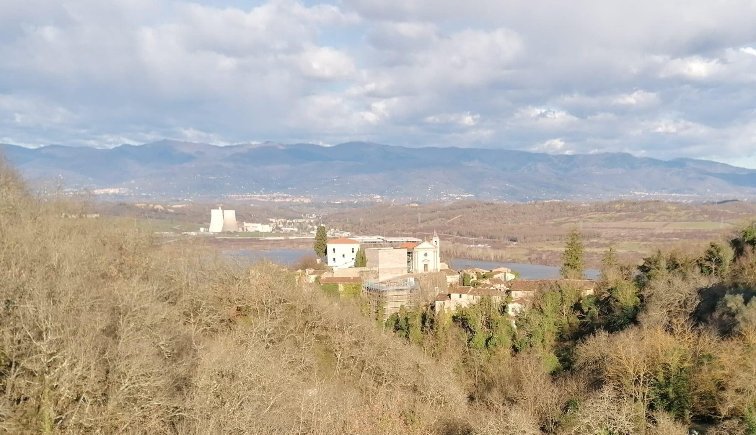 Spookdorp Castelnuovo dei Sabbioni Toscane