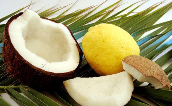 "Lemon Coconut ""Custard"""