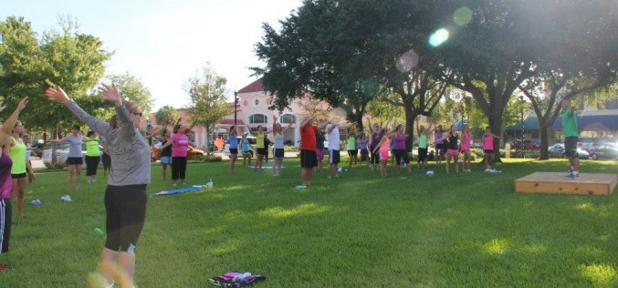 Meet the father of Family Fun and Fitness at the Fountain
