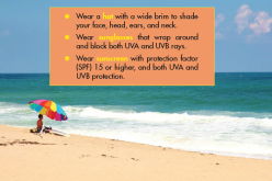 Medical Advice: New 'Sun's Up' project to help residents and visitors stay safe from UV radiation