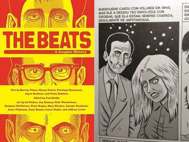 Os Beats: graphic novel (Harvey Pekar e Ed Piskor)