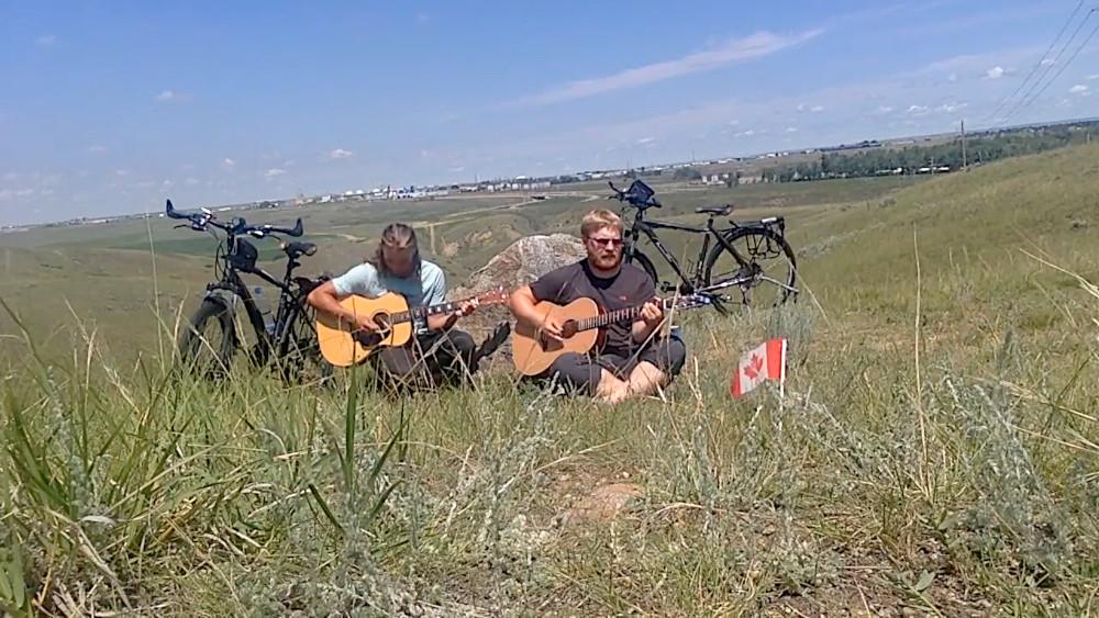 Alberta Boys Coltan Schell and Corey Ennis Touring