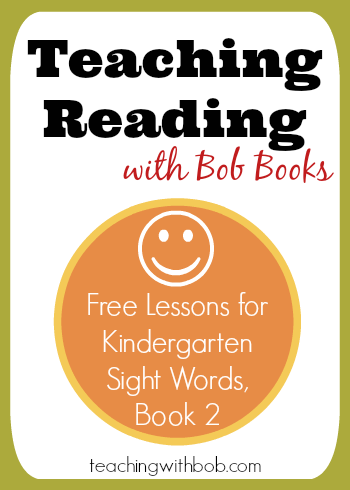 An introduction and lesson plans for book two of the Kindergarten Sight Words set.